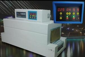 Digital Control Panel Thermal Heat Shrink Packaging Machine Tunnels For Pvc pof