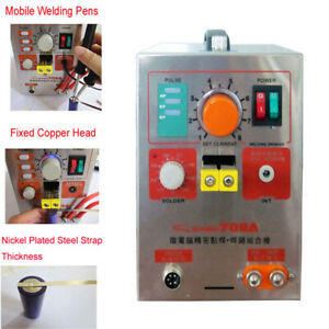 709a Pulse Spot Welder Welding Soldering Machine For Battery Packs 1 9kw