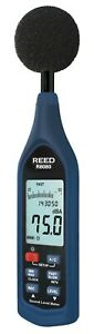 Reed Instruments R8080 Sound Level Meter W Iec 61672 1 Class 2 Standards