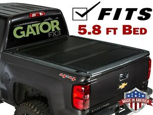 Gator Fx3 Tonneau Cover 6610130 2019 Chevy Silverado Gmc Sierra 5ft8in Bed