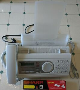 Sharp Ux p100 Plain Paper Facsimile Fax Machine Ux 5cr Fax Film