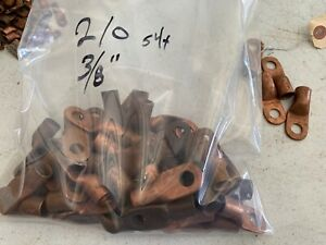 54x Copper Solder Terminal Lugs S 150 a 2 0 Wire 3 8 Hole Nos