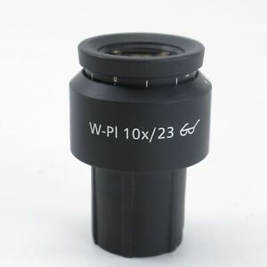 Carl Zeiss W pl 10x 23 30mm Focusable Microscope Eyepiece 1016 758