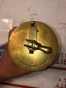 Michigan Lubricator Oiler 5 Hit Miss Stationary Engine