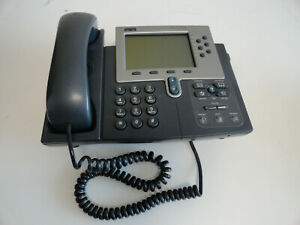 Cisco 7960 Ip Phone And Handset Office Business Telephone