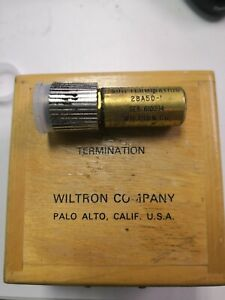 Wiltron Termination 50ohm 28a50 i Used With Box 1a
