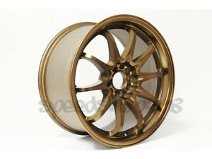 Rota Dpt Wheels Sport Bronze 17x9 42 5x100 5x114 For Frs Brz Tsx S2000 Accord
