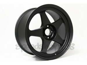 Rota Wheel Slipstream Flat Black 18x9 5 38 5x114 3 For Wrx Is300 S2000 Tsx Tl
