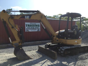 2006 Caterpillar 305cr Hydraulic Mini Excavator Thumb Only 2000hrs Coming Soon