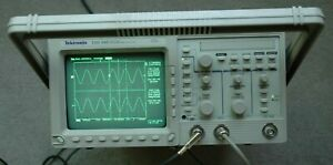 Tektronix Tds340 Digital Oscilloscope Calibrated Passed All Self Testing