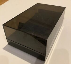 Vintage Eldon Office Products Rolodex Style Business Card File Box