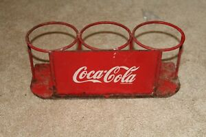 Coca Cola 1970s Thailand Restaurant Advert Sauce Jars Small Corner Thai Rare Red