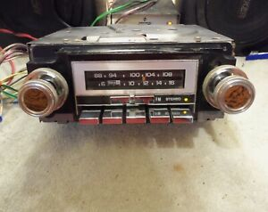 1978 86 Chevy Truck Car Buick Olds Pontiac Delco Am Fm Stereo Radio Tested