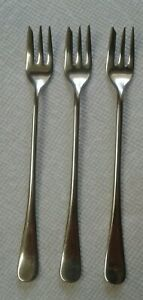 Simeon L Geo H Rogers Co Nickel Silver Set Of 3 Pickle Olive Forks