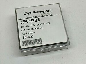 Newport 05fc16pb 5 Polarizing Cube Beamsplitter Beam Splitter 12 7mm 620 1000nm