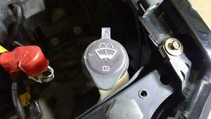 07 14 Cadillac Escalade Washer Bottle With Cap Pump Oem Used