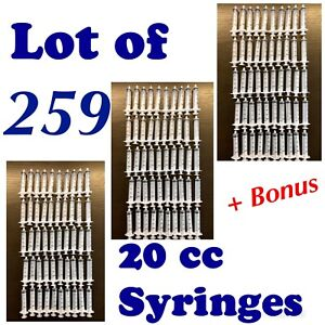 Bd 20 Ml Syringe Plastic Disposable Lot Of 150 New