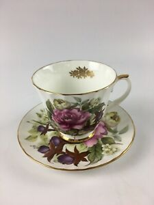 Vintage Duchess Fine Bone China Tea Cup Saucer Made In England Lot 4175