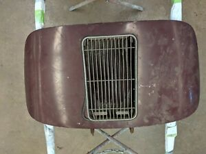 Porsche 356 Engine Motor Deck Lid Cover Single Grille W Grill 356a 356b