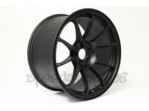 Rota Wheels Titan Flat Black 18x9 5 38 5x114 3 For Wrx Civic Accord Tl Is250