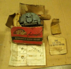Nos Trico Vacuum Windshield Wiper Motor 57 58 Cadillac 1957 1958 Sedan Coupe