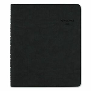 The Action Planner Daily Appointment Book 8 3 4 X 6 7 8 Black 2020
