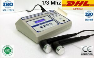 Ultrasound Therapy 1 3 Mhz Physical Pain Relief Therapy 103 Two Head Machine