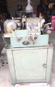 Sioux 685l Valve Grinder Face Grinding Machine Cabinet Extra Stones
