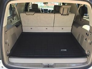 Cargo Sure fit Floor Mats 2015 2020 Chevy Suburban