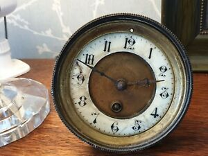 Antique Japy Freres French Clock Movement Spares Or Repair Ref A15