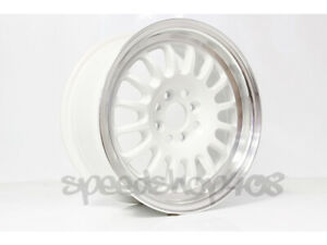 Rota Wheels Track R 16x7 40 4x100 Royal White For Civic Integra Del Sol