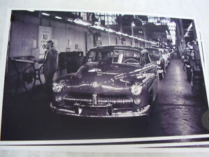 1949 Mercury Assembly Line 11 X 17 Picture 3