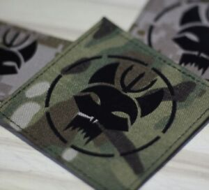 Seal Special Force Badge Seal Fox MIlitary Tactical Multicam Airsoft Game Patch $16.99