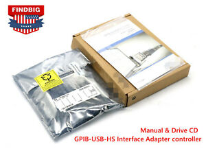 New Free Shipping Usa Gpib usb hs Interface Adapter Controller Ieee 488 Warranty