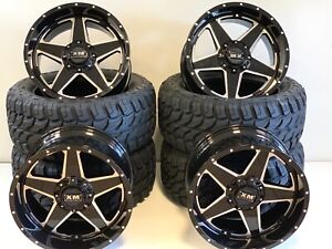 20x10 Xm Rims Tires Offroad Ford Trucks And Gmc Chevy