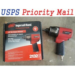 Ingersoll Rand 1 2 Inch Edge Series Quiet Technology Air Impact Wrench 2132g