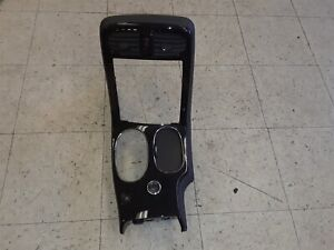 08 13 Corvette C6 Center Console Radio Shifter Bezel Carbon Fiber Look Aa6433