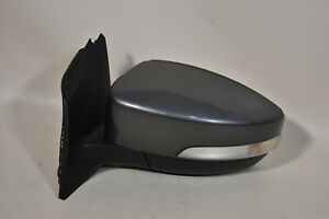 12 14 Ford Focus Hatchback Left Driver Side Power Mirror Sterling Gray 6 Pin