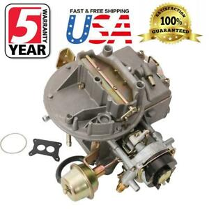 2 Barrel Engine Carburetor Carb Fits For F150 Ford F 100 F 350 Mustang 2150 Jeep