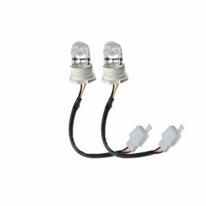 2 Replacement Bulbs For Hide A Way Emergency Hazard Warning Strobe Light Kit