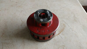 Ridgid 12 r 12r Pipe Threader Threading Ratcheting 3 8 Die Head