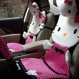 New Listing Hello Kitty Car Seat Cushions Accessories Set