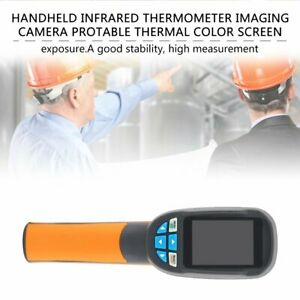 Handheld Infrared Thermometer Imaging Camera Protable Thermal Color Screen Nd
