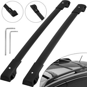 For Subaru Forester 2014 2019 Top Luggage Carrier Roof Rack Cross Bars Pair Set