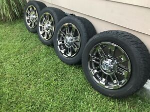 Set 4 Tires And Wheels 2016 Toyota Tundra