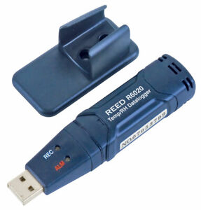 Reed Instruments R6020 Direct Usb Temperature Humidity Data Logger
