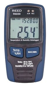 Reed Instruments R6030 Temperature And Humidity Data Logger 40 c To 70 c