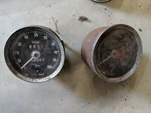 Smiths Tachometer And Speedometer What You See Is What You Get