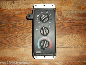 1998 2001 Dodge Ram Truck Electronic Heater Climate Control Heated Mirrors 99 00