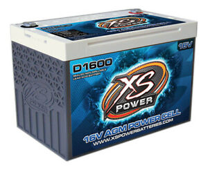 Xs Power Battery Agm Battery 16v 2 Post P N D1600